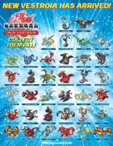 small core poster Bakugan Posters