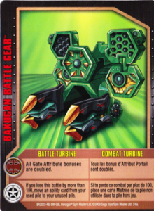 battlegear battleturbine card 220x300 Gundalian Invaders Bakugan Battle Gear