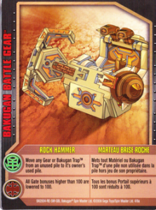 battlegear rockhammer card 222x300 Gundalian Invaders Bakugan Battle Gear