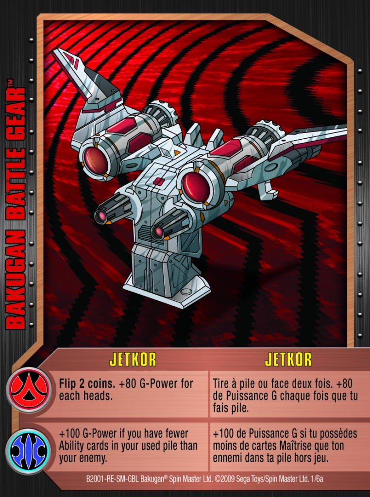01a Jetkor 762x1024 Bakugan 1 6a Battle Gear Card Set