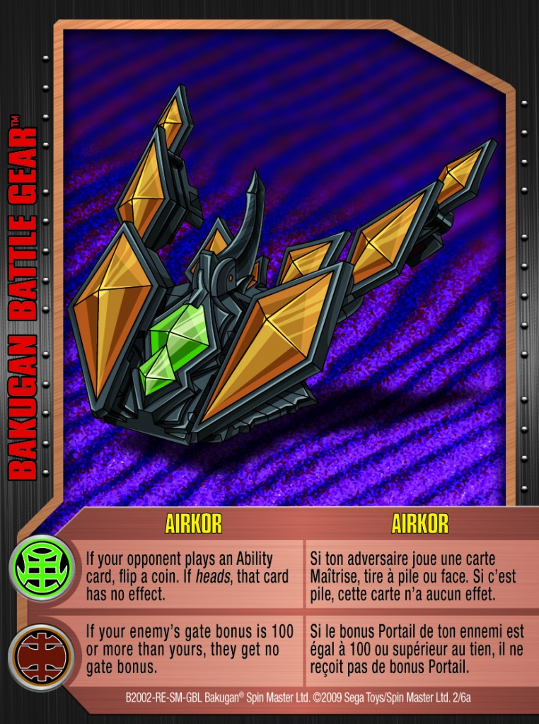02a Airkor 762x1024 Bakugan 1 6a Battle Gear Card Set