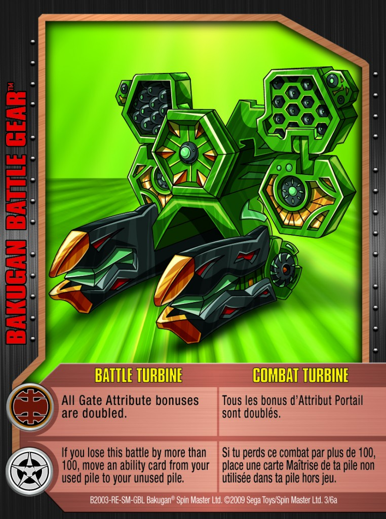 03a Battle Turbine 762x1024 Bakugan 1 6a Battle Gear Card Set