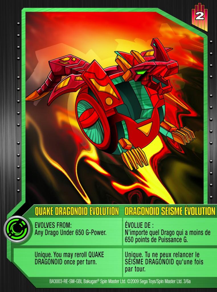 03a Quake Dragonoid Evolution 762x1024 Bakugan Gundalian Invaders Special Evolution Card Set
