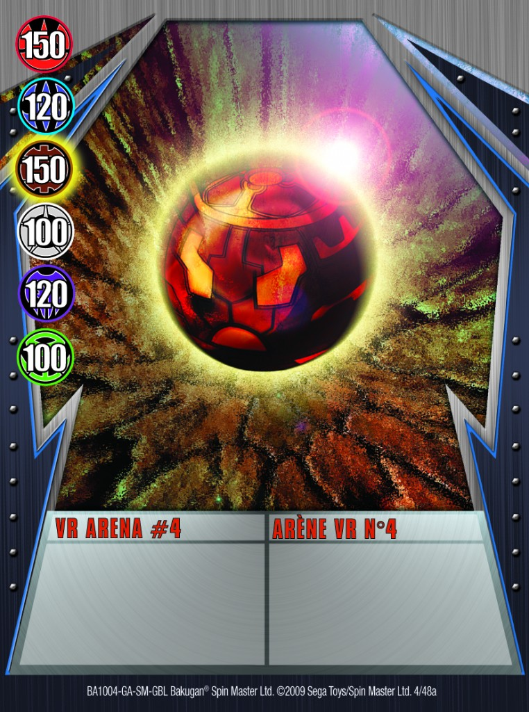 04a VR Arena 4 762x1024 Bakugan Gundalian Invaders 1 48a Card Set