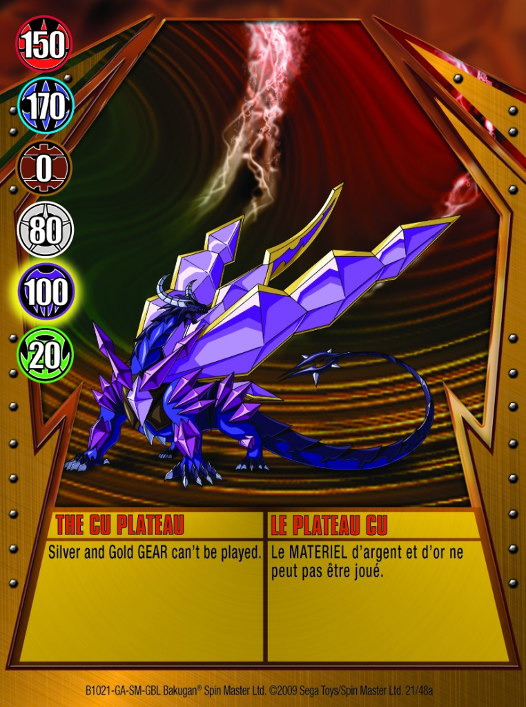 21a The CU Plateau 762x1024 Bakugan Gundalian Invaders 1 48a Card Set