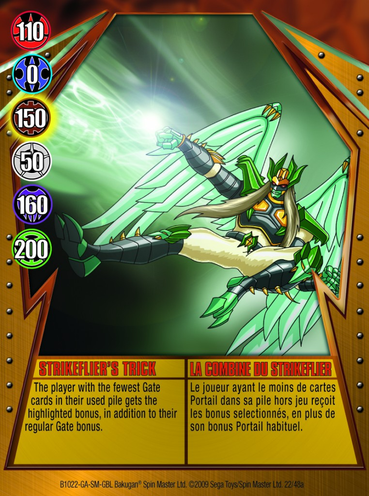 22a Strikefliers Trick 762x1024 Bakugan Gundalian Invaders 1 48a Card Set