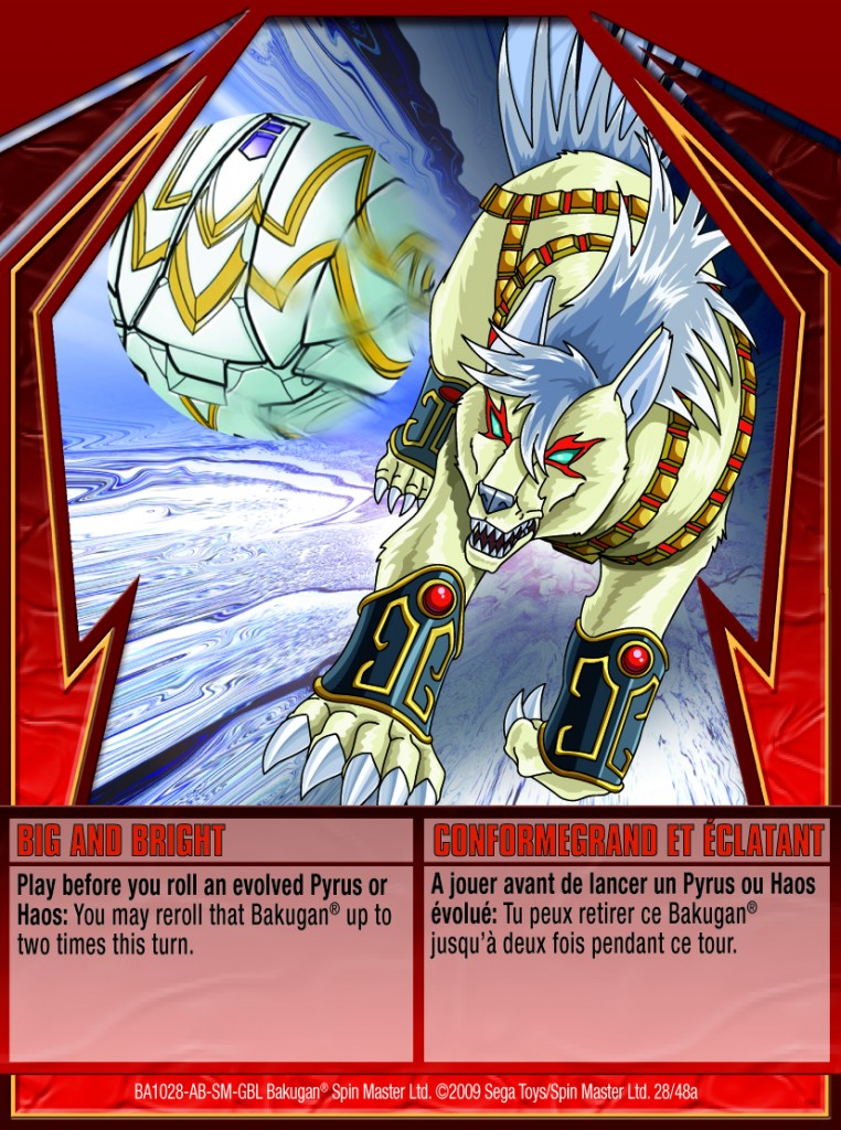 28a Big and Bright 762x1024 Bakugan Gundalian Invaders 1 48a Card Set