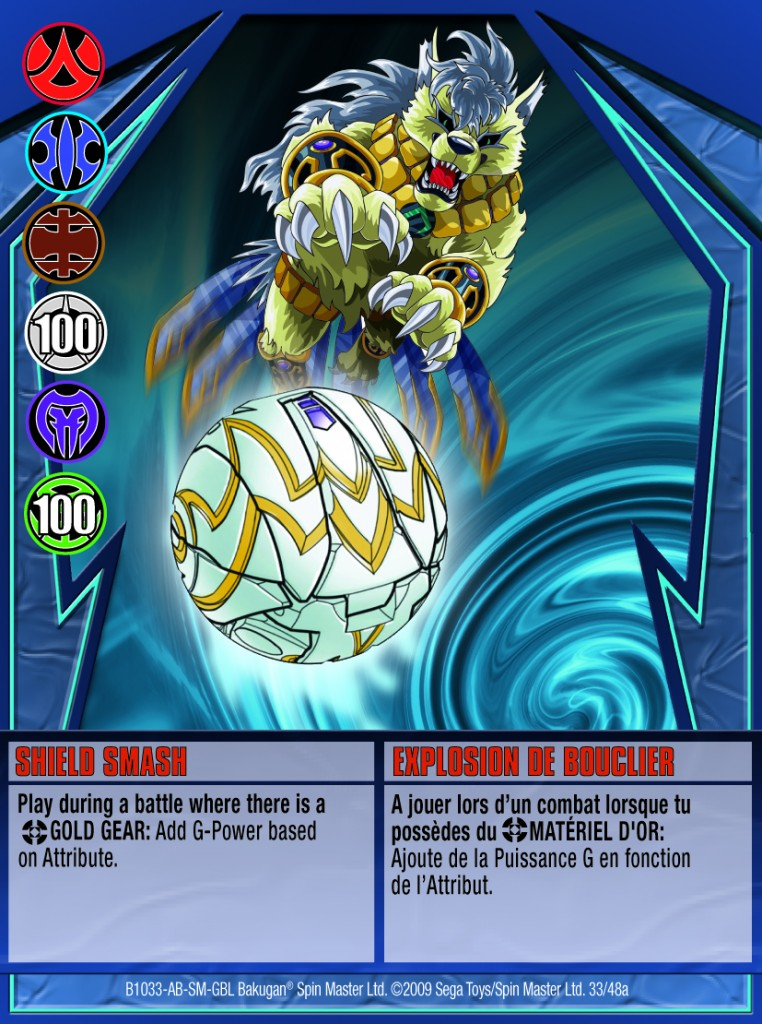 33a Shield Smash 762x1024 Bakugan Gundalian Invaders 1 48a Card Set