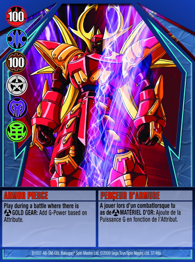 37a Armor Pierce 762x1024 Bakugan Gundalian Invaders 1 48a Card Set