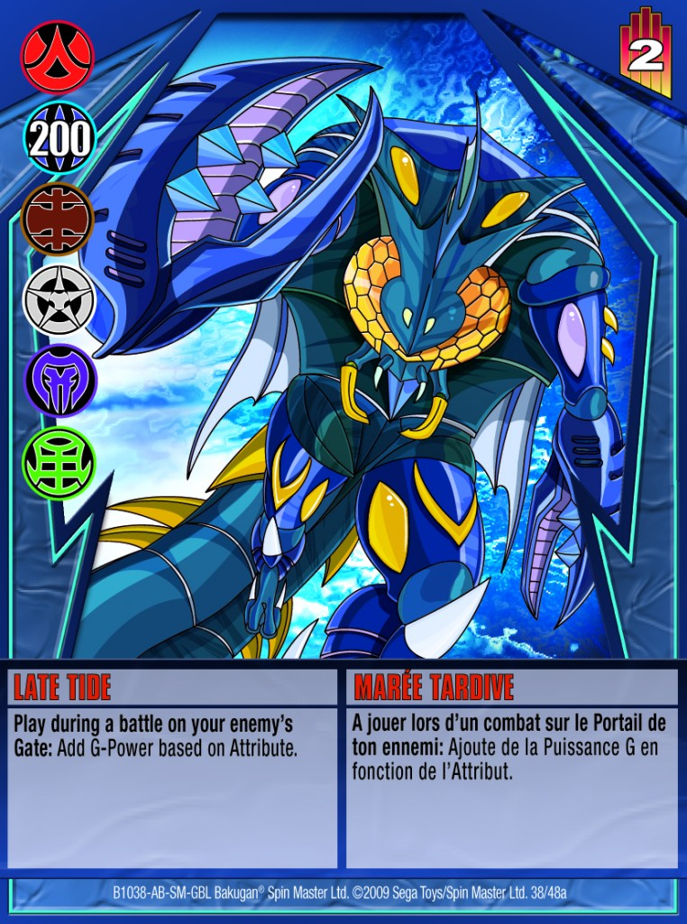 38a Late Tide 762x1024 Bakugan Gundalian Invaders 1 48a Card Set