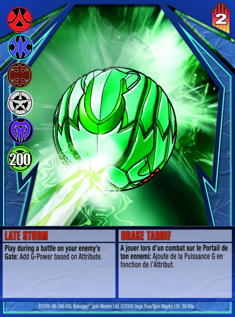 39a Late Storm 762x1024 Bakugan Gundalian Invaders 1 48a Card Set