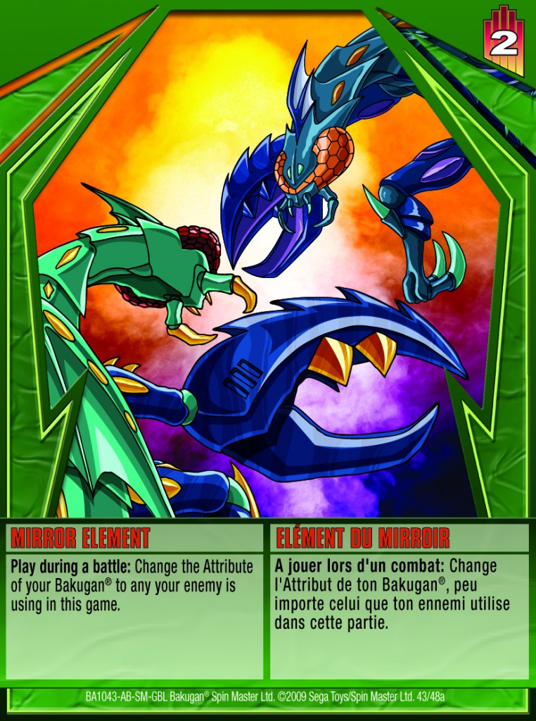 43a Mirror Element 762x1024 Bakugan Gundalian Invaders 1 48a Card Set