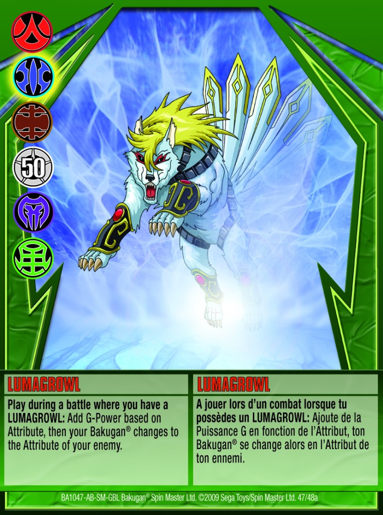 47a Lumagrowl 762x1024 Bakugan Gundalian Invaders 1 48a Card Set