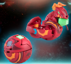 Chance Dragonoid Bakugan Super Assault