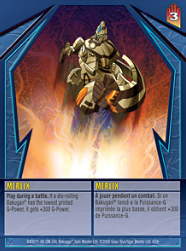 Merlix Gundalian Invaders Cards Added
