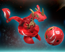 Neo Drago 7in1 Maxus Neo Dragonoid Bakugan (Core of 7in1 Maxus Dragonoid)