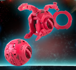 Quake Dragonoid Bakugan Super Assault