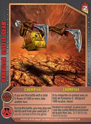 chompixx Chompixx Bakugan Battle Gear