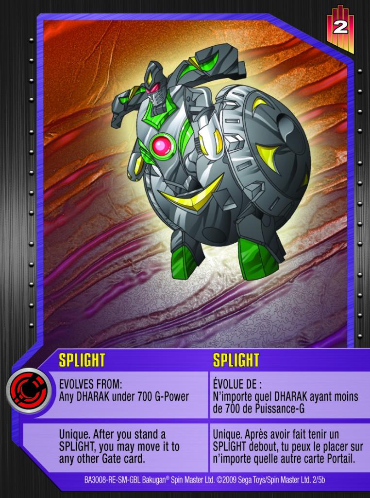 02b Splight 762x1024 Bakugan Gundalian Invaders 1 5b Special Evolution Card Set