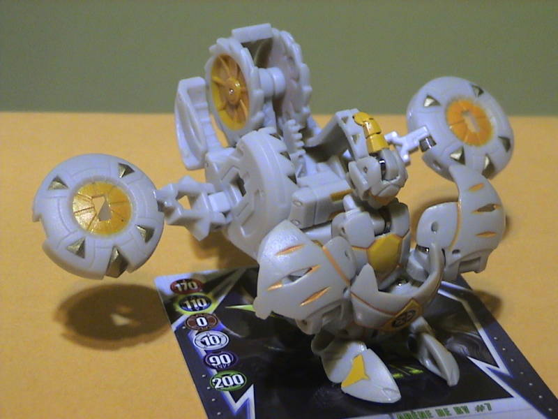 Barias Gear onAranaut Barias Gear Bakugan Battle Gear