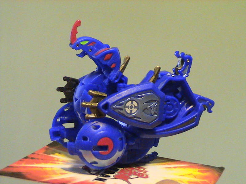 Terrorcrest onBakugan Terrorcrest Bakugan Battle Gear
