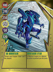 15 48c AU Mountain Bakugan Gundalian Invaders 1 48c Card Set