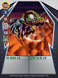2 48c VR Arena 6 Bakugan Gundalian Invaders 1 48c Card Set