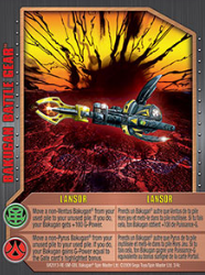 3c Lansor Bakugan 1 4c Battle Gear Card Set