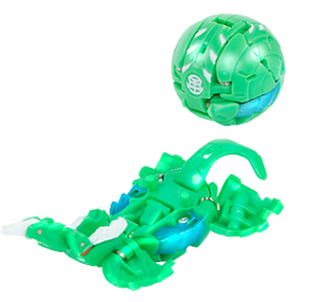 BK Megarus 300x279 All New Gundalian Invaders Bakugan November & December 2010 Releases