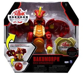 Bakumorph Neo Dragonoid 1 Bakugan Gundalian Invaders BakuMorph