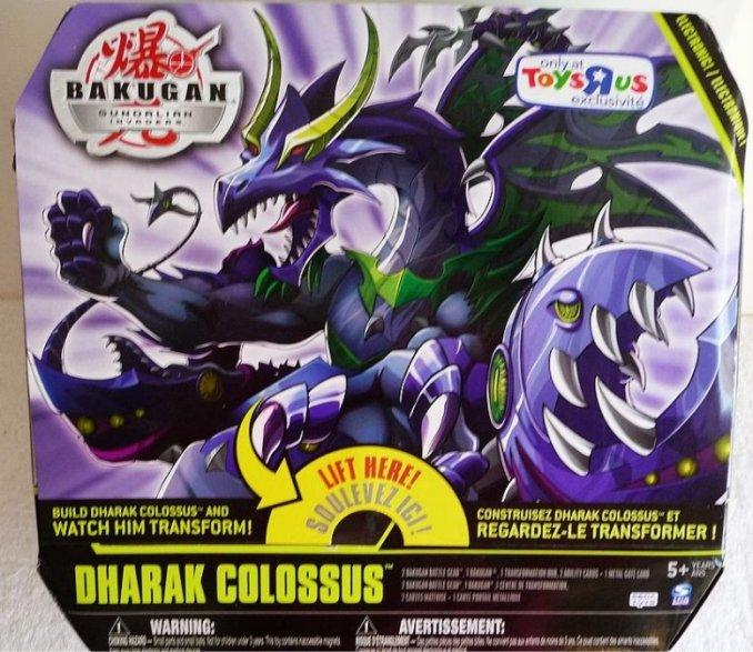 Dharak Colossus pack Bakugan Mobile Assault (Vehicles)