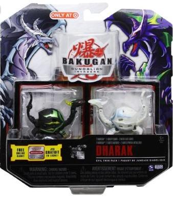 Evil Twin Dharak 1 Bakugan Evil Twin Packs