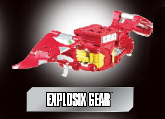 poster explosix gear Explosix Gear Bakugan Battle Gear