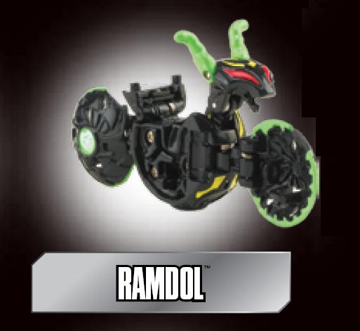 poster ramdol Ramdol Bakugan