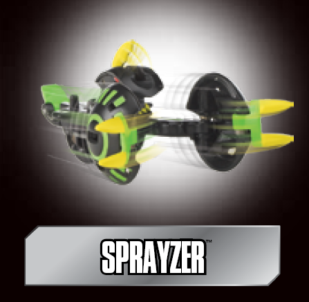 poster sa sprayzer Sprayzer Bakugan