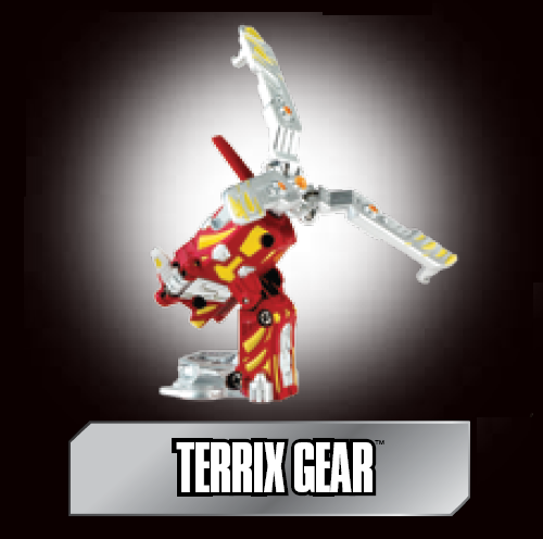 poster terrix gear Terrix Gear Bakugan Battle Gear