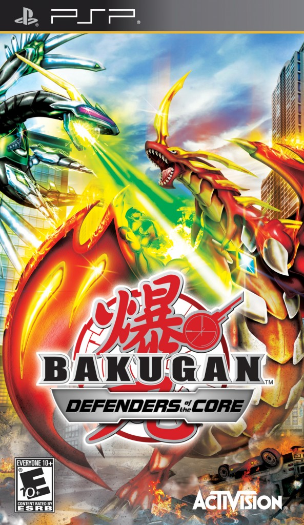 Bakugan DOTC PSP 593x1024 New Assets and Updated Website for Activisions Bakugan: Defenders of the Core