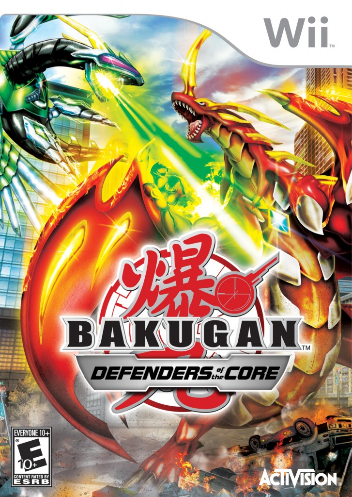 Bakugan DOTC Wii 727x1024 New Assets and Updated Website for Activisions Bakugan: Defenders of the Core