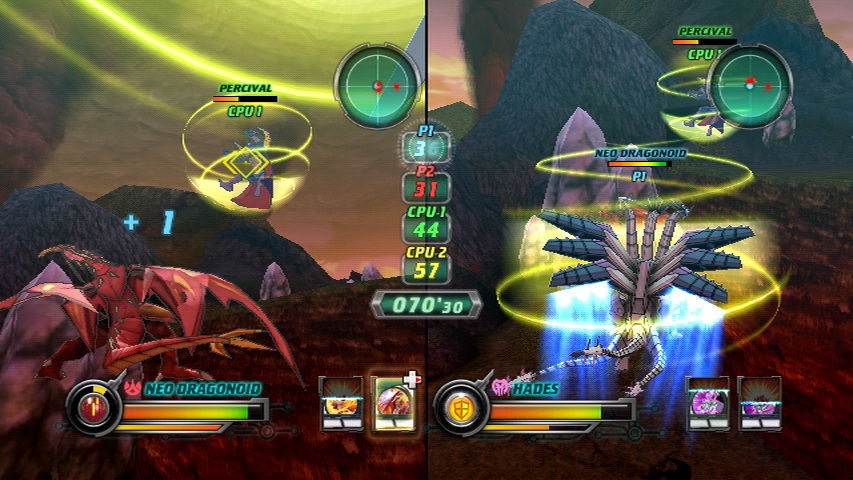 Wii Screen 01 New Wii Screenshots For Bakugan: Defenders of the Core
