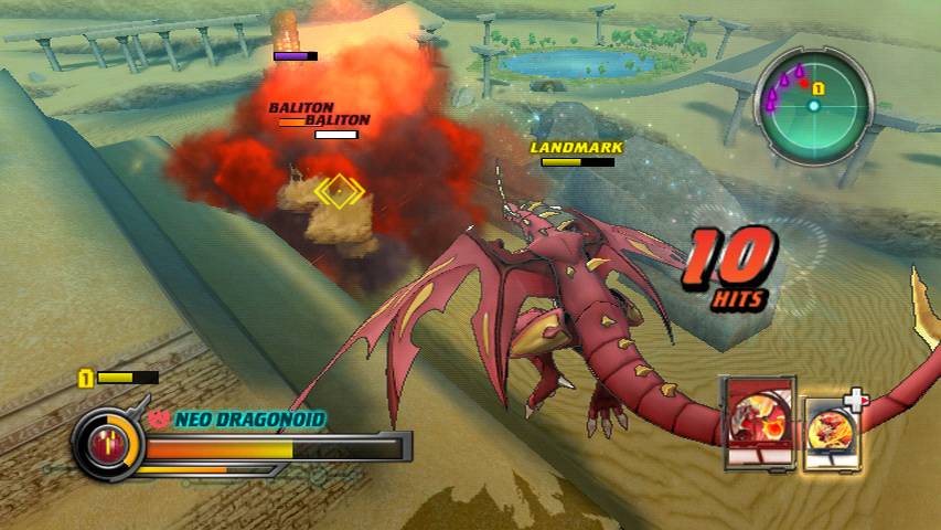 Wii Screen 04 New Wii Screenshots For Bakugan: Defenders of the Core
