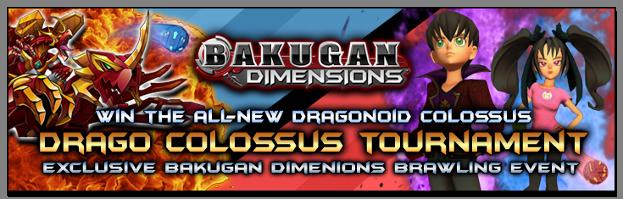 dragocolossus 1 Bakugan Dimensions: Dragonoid Colossus Tournament   Compete to Win!