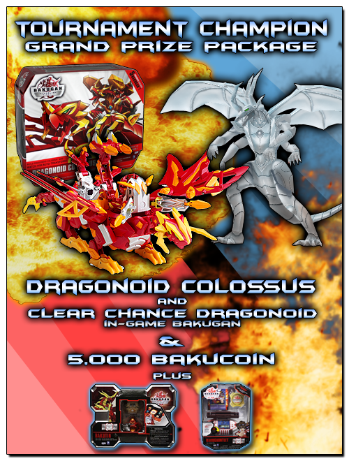 dragocolossus 2 Bakugan Dimensions: Dragonoid Colossus Tournament   Compete to Win!