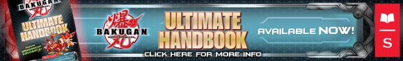 scholastic handbook All New Bakugan: Ultimate Handbook!