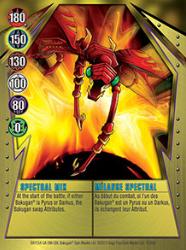 10 48d Spectral Mix Bakugan Gundalian Invaders 1 48d Card Set