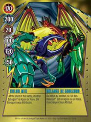 11 48d Color Mix Bakugan Gundalian Invaders 1 48d Card Set