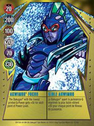 12 48d Akwimos Focus Bakugan Gundalian Invaders 1 48d Card Set