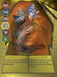 12e Sluggers Chance Bakugan Gundalian Invaders 1 47e Card Set