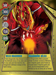 14 48d Helix Dragonoid Bakugan Gundalian Invaders 1 48d Card Set