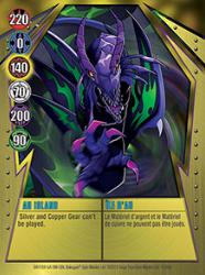 15 48d AU Island Bakugan Gundalian Invaders 1 48d Card Set