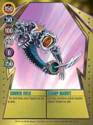 16 48d Cursed Field Bakugan Gundalian Invaders 1 48d Card Set